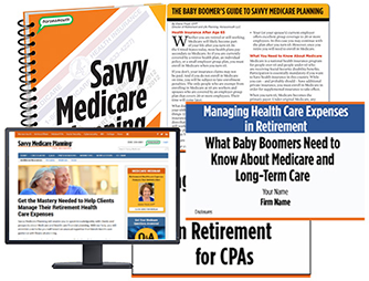 Savvy Medicare Planning products